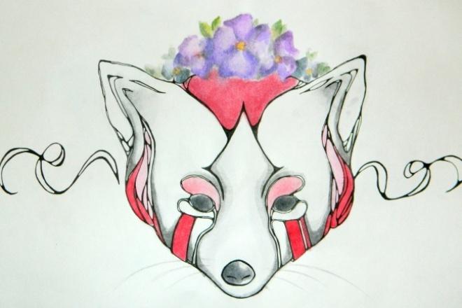 Сделаю эскиз татуировки или артИллюстрации и рисунки<br>Разработка эскизов татуировки или просто арт. Обычно работаю произвольно без какого-либо задания, но возможны исключения)<br>