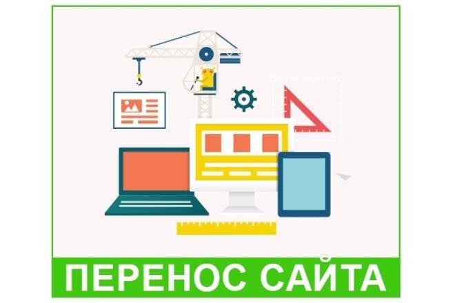Качественный перенос сайта на другой хостинг 1 - kwork.ru