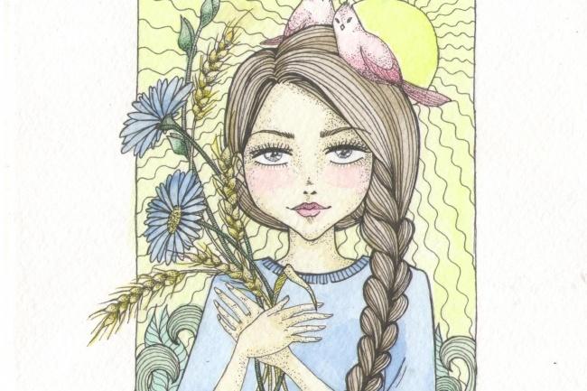 Нарисую детскую или книжную иллюстрацию 1 - kwork.ru