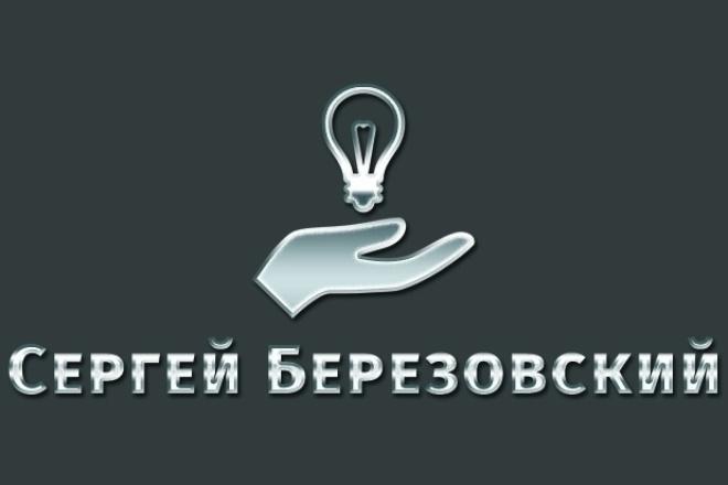 Разработка логотипа с нуля 1 - kwork.ru