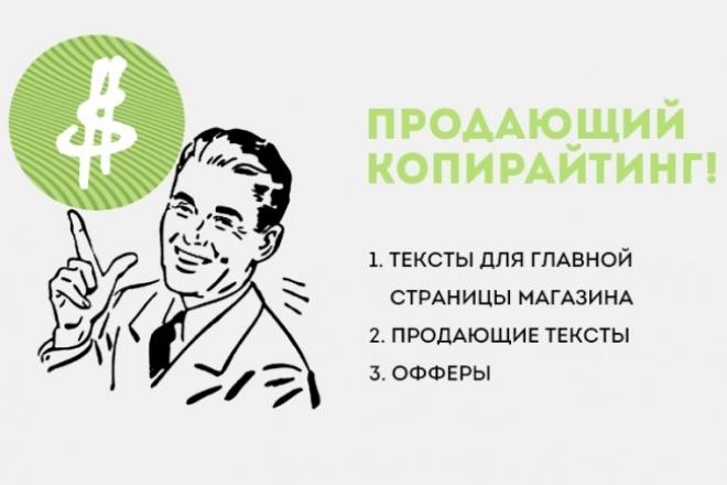 Роскошный продающий текст 1 - kwork.ru
