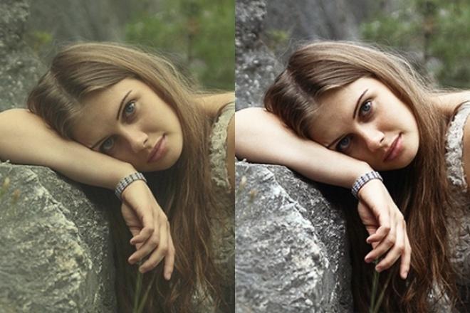 Обработка изображенияОбработка изображений<br>Сделаю цветокоррекцию изображений к 10 фотографиям. - Изменение яркости/ контрастности - Смена цветовой гаммы (если требуется) - Усиление резкости изображения<br>