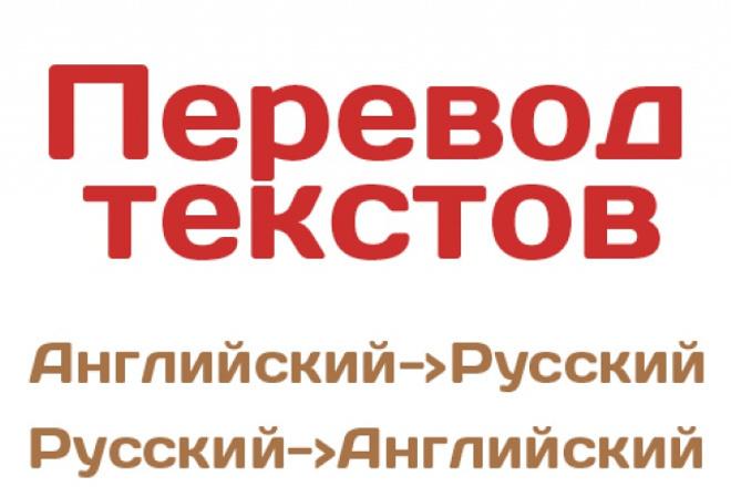 переведу текст с/на английский язык 1 - kwork.ru