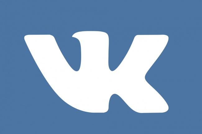 500 лайков на фото или запись Vk. Без ботов только реальные люди 1 - kwork.ru