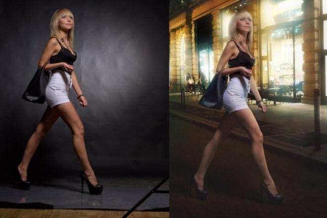 Отредактирую фотоОбработка изображений<br>Отредактирую фото с наложением эффектов и других изображений на исходное, так же заменю фон на фотографии.<br>
