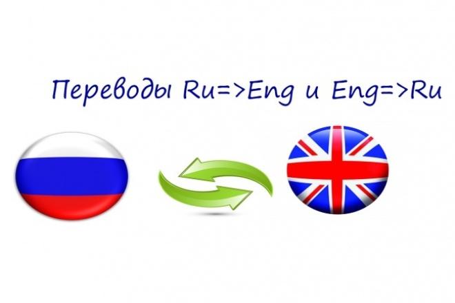 Переведу ваш текст RU=&gt;Eng и Eng=&gt;RuПереводы<br>Оказываю услуги по переводу любых видов текста RU=&amp;gt;Eng и Eng=&amp;gt;Ru . Таких как художественные, технические, юридические и т.д. уже более трех лет всегда быстро, дешево и качественно.<br>