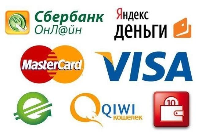 Страница с онлайн-оплатой 1 - kwork.ru