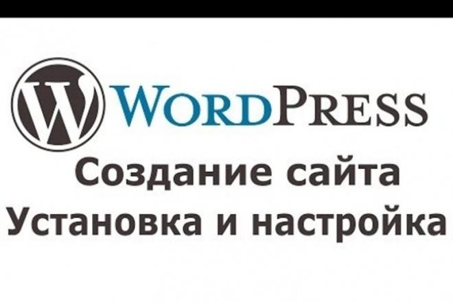 Верстка + Установка на WordPress 1 - kwork.ru