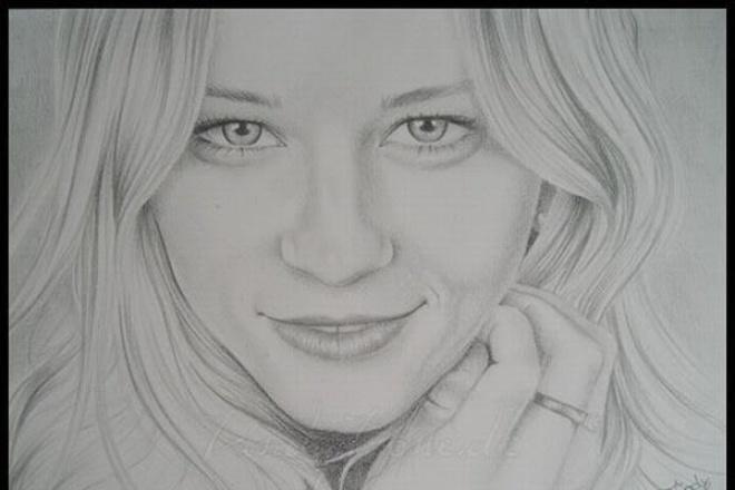 Сделаю эффект рисунка карандашом 1 - kwork.ru