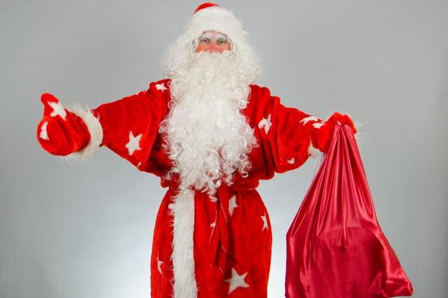 Поздравить, озвучить рекламу, стихотворение голосом Деда Мороза 1 - kwork.ru