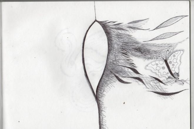 Нарисую тату, иллюстрацию для блога 1 - kwork.ru