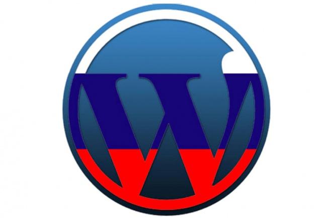 Переведу шаблон Wordpress на русский язык 1 - kwork.ru