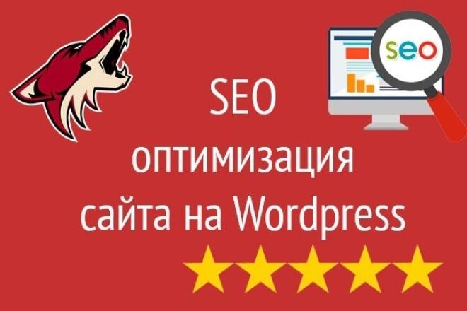 SEO оптимизация Wordpress 1 - kwork.ru