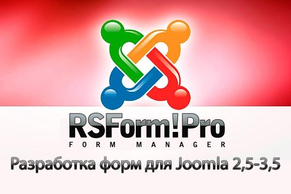 Разработка форм на RSForm для Joomla 2,5-3,5 1 - kwork.ru