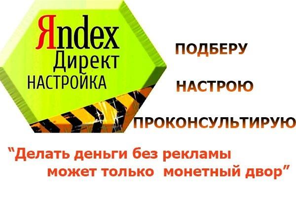 Настройка Яндекс Директ.  Уменьшу стоимость клика в 2 раза 1 - kwork.ru