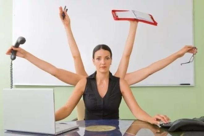 Помогу с выполнением рутиныПерсональный помощник<br>Сделаю за вас рутинную работу, на которую зачастую не хватает ни сил, ни времени. Работа в excel, word, копипаст, подбор информации. Умею многое, сделаю любую, предложенную вами работу по своим возможностям, все обсудим!<br>