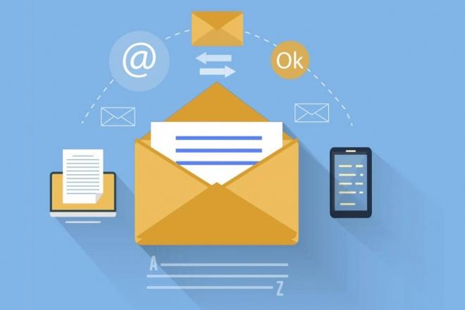 Email письма, дизайн и верстка 1 - kwork.ru