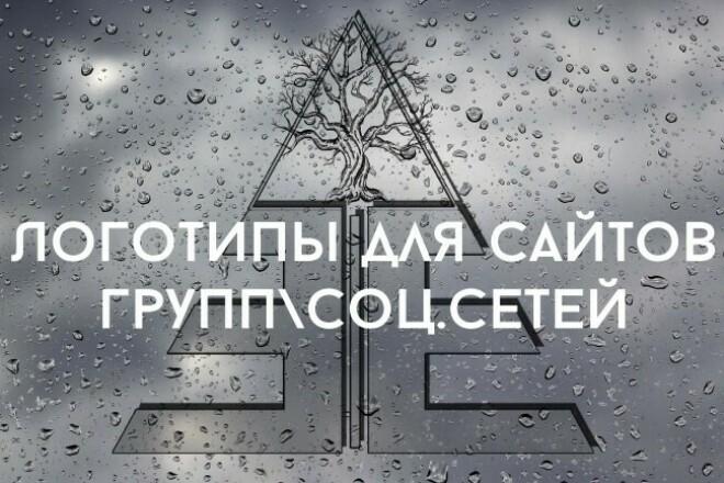 Логотип для вашего канала, товара, сообщества соц. сетей 1 - kwork.ru
