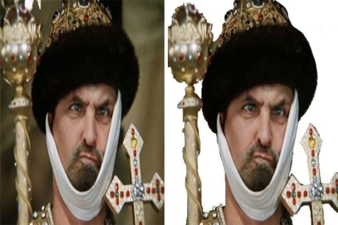 Удалю фон с 2 изображений 1 - kwork.ru