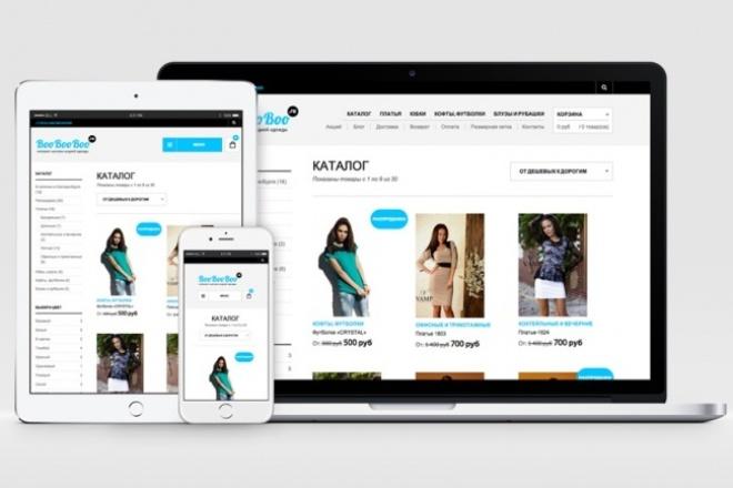 Сделаю магазин на WordPress 1 - kwork.ru