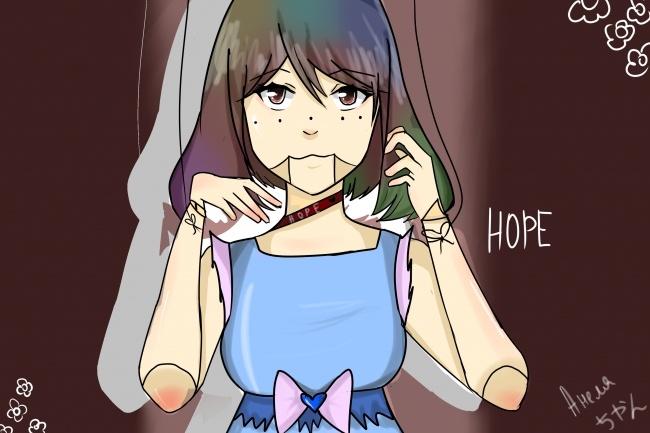 Нарисую арт в аниме стиле 1 - kwork.ru