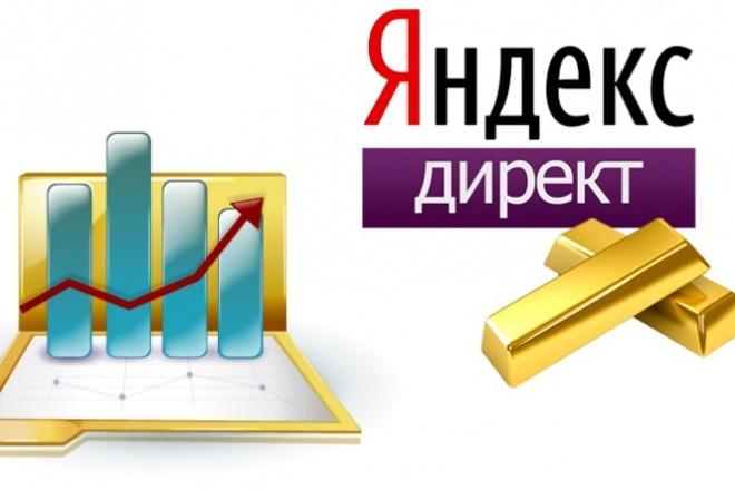 Яндекс.Директ Запуск рекламной кампании на 100 объявлений (ключевиков) 1 - kwork.ru
