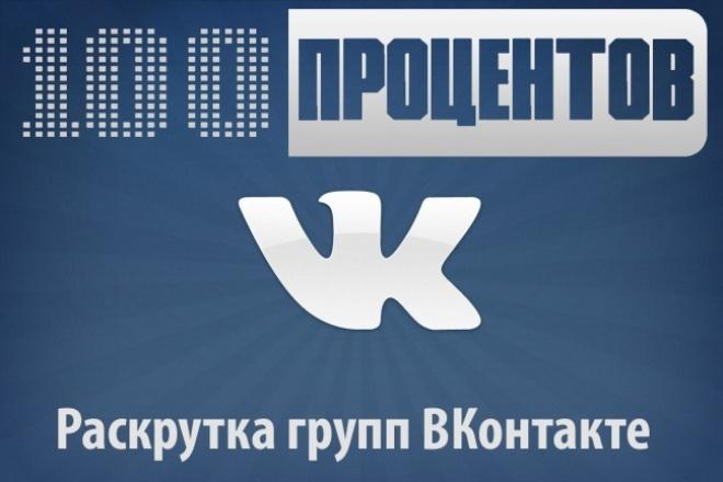 Добавлю +1000 подписчиков в группу или паблик Вконтакте 1 - kwork.ru