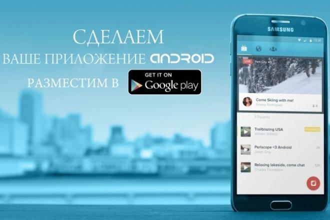 Создам простое приложение для Android 1 - kwork.ru