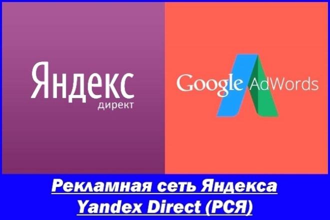 Создание/настройка грамотной медийной компании Yandex Direct (РСЯ) 1 - kwork.ru