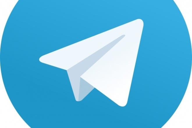 Разработаю бота для телеграмма 1 - kwork.ru