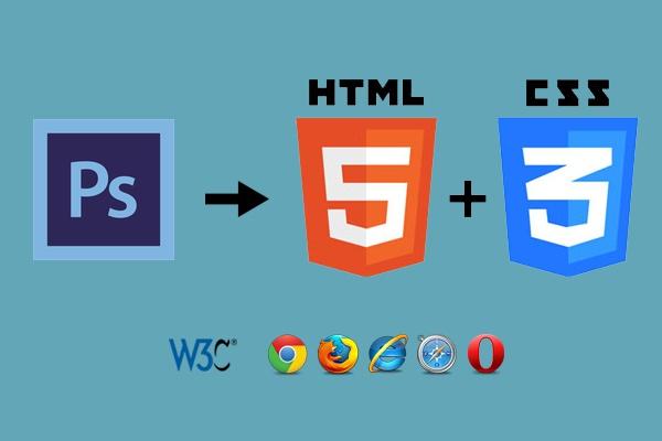 Вёрстка из PSD в html, CSSВерстка и фронтэнд<br>Качественная вёрстка из PSD макета в html для сайта-визитки, лендинга. В базовую стоимость входит вёрстка 1экрана для Лендинга или 1 простой страницы для многостраничного сайта. Возможна натяжка на Wordpress. Опыт работы более 3-х лет. Всегда выполняю работу качественно и в срок.<br>