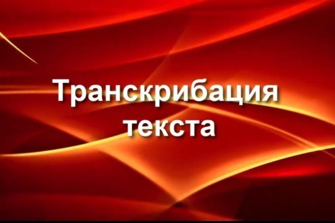 Переведу аудио в текст (транскрибация) 1 - kwork.ru