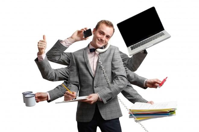 Личный помощникДругое<br>Кворк включает в себя оказание помощи через интернет. Длительность помощи - 30 минут. Личный помощник может включать следующие функции: - поиск информации, сайтов, файлов и прочего в интернете; - администрирование сайтов, групп в соц. сетях; - и др.<br>