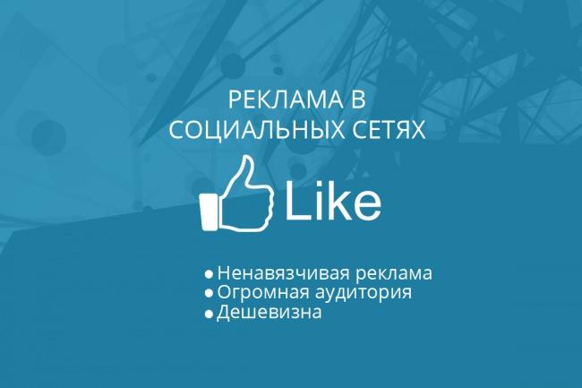 Запустить супер эффективную рекламу в соц сетях 1 - kwork.ru