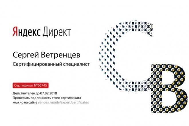 100 горячих ключей в Яндекс.Директ с топовыми объявлениями 1 - kwork.ru