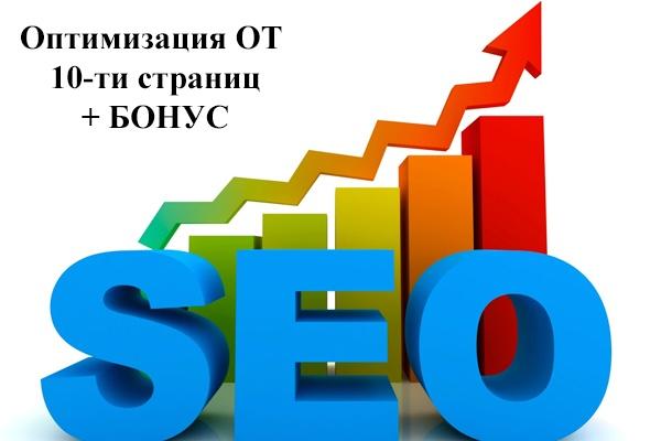 Сделаю внутреннюю SEO оптимизацию сайта,  10-15 страниц 1 - kwork.ru