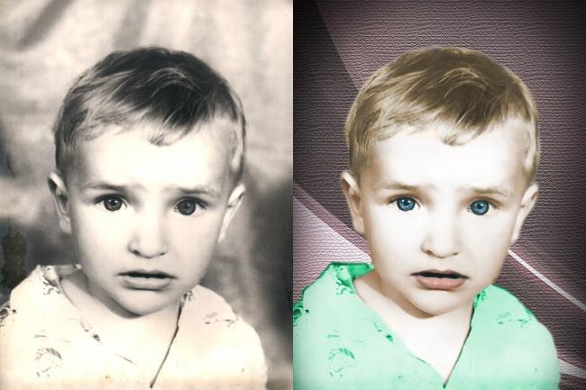 Сделаю ч/б фото цветнымОбработка изображений<br>Старые чёрно-белые фотографии или просто чёрно-белые фотографии можно сделать цветными. Этим мы и займёмся с Вами.<br>