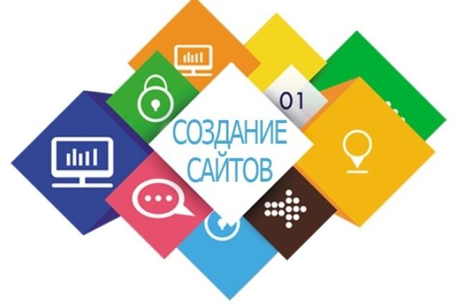 Создам сайт-одностраничник на заказ 1 - kwork.ru