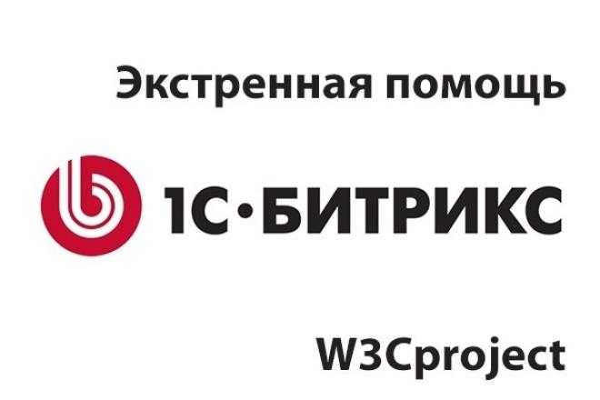 Помогу с 1C-Bitrix CMS 1 - kwork.ru