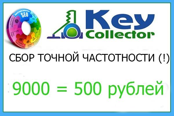 Сбор точной частотности для 9000 ключевых запросов 1 - kwork.ru