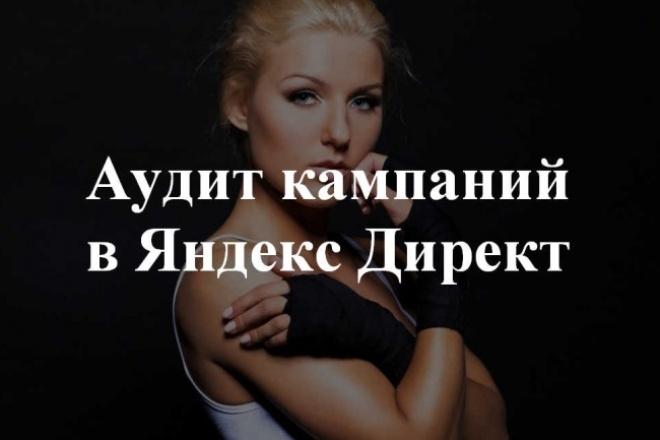 Проведу аудит рекламной кампании в Яндекс Директ 1 - kwork.ru