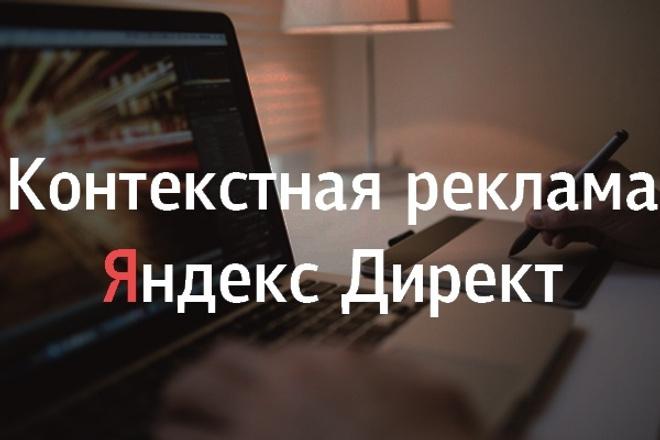Создание рекламной кампании в Яндекс. Директ 1 - kwork.ru