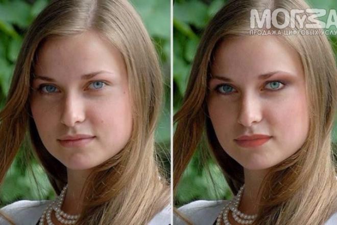 сделаю профессиональный MakeUp на любую вашу фотографию 1 - kwork.ru