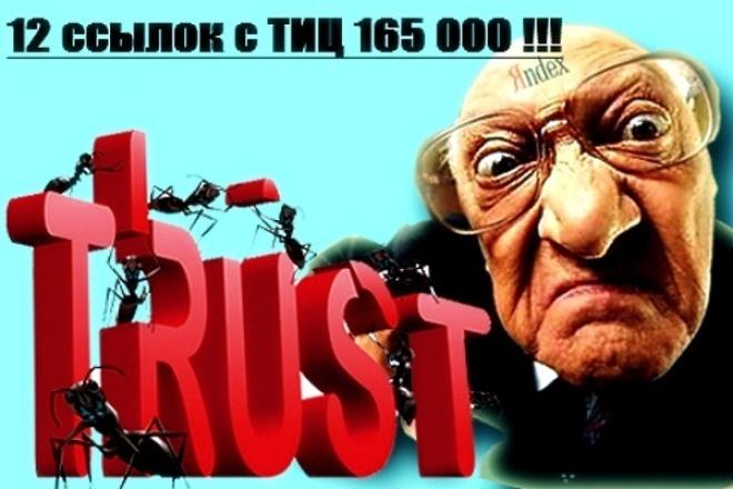 размещу ваш сайт на 12 площадках с тиц 165 000 1 - kwork.ru