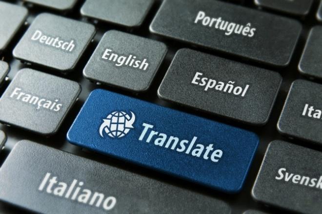 Качественный Литературный перевод с Английского на Русский 1 - kwork.ru