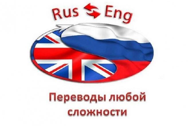 Переведу текст для вас (владею свободным английским) 1 - kwork.ru