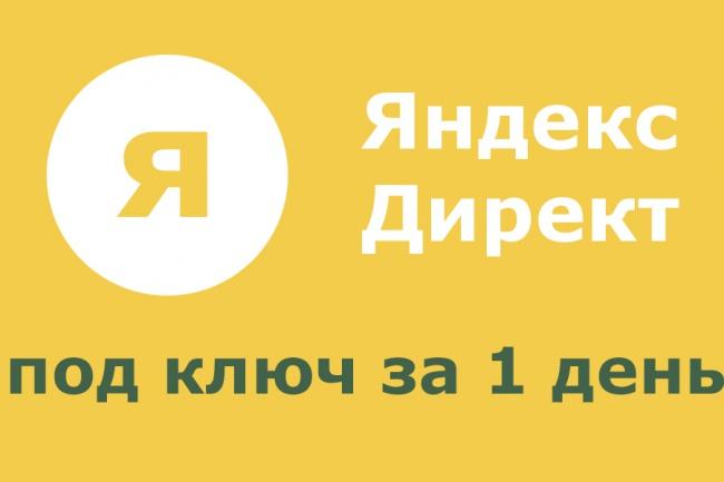 Полноценная кампания в яндекс директе, приносящая реальных клиентов 1 - kwork.ru