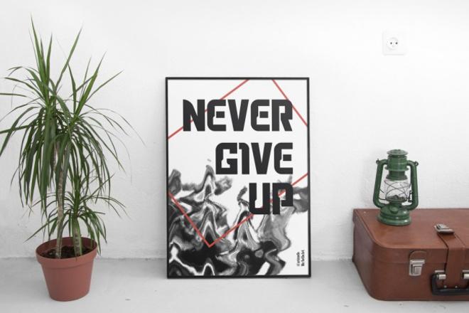 Сделаю постер, плакат 1 - kwork.ru
