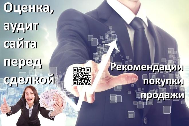 Аудит и оценка стоимости сайта перед покупкой или продажей 9 - kwork.ru