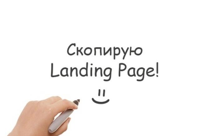 Скопирую любой лендинг (Landing page) 1 - kwork.ru